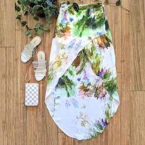 🌵TOP SHOP High Low Tulip High Waist Skirt -XS-SM